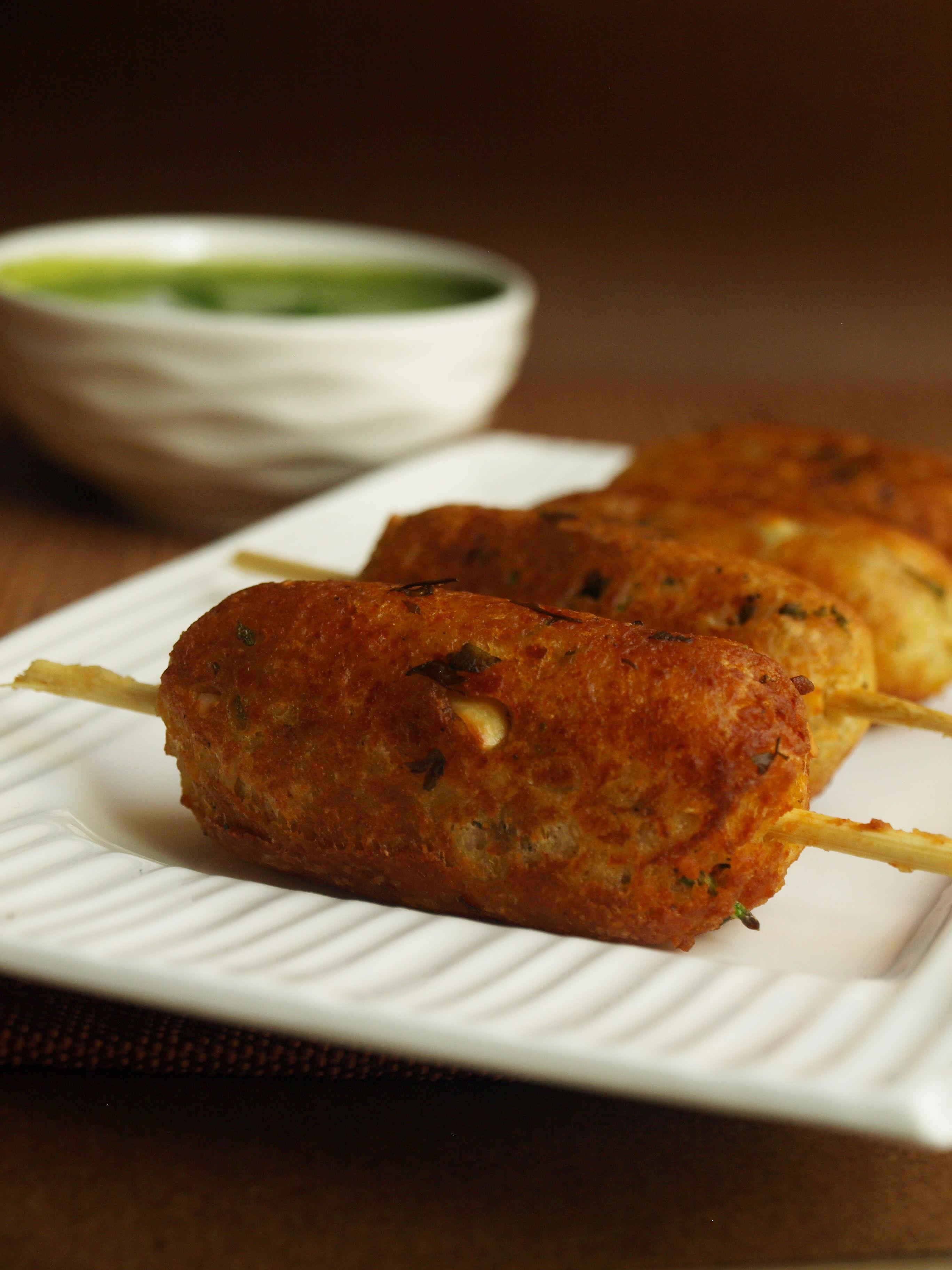 Paneer Seekh Kebab