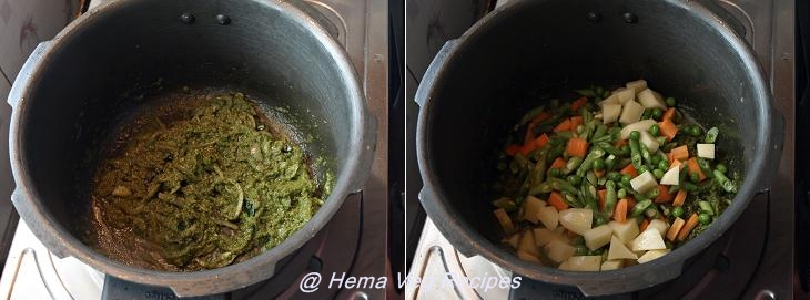 Navane or Foxtail Millet Pulao Preparation
